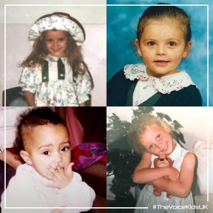 Little Mix as children The Voice Kids UK 2019