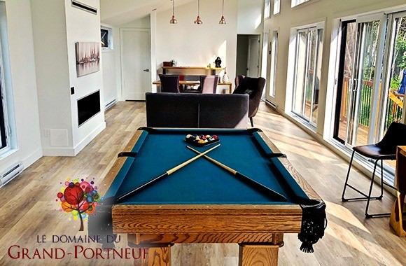 Domaine du Grand Portneuf - table de pool