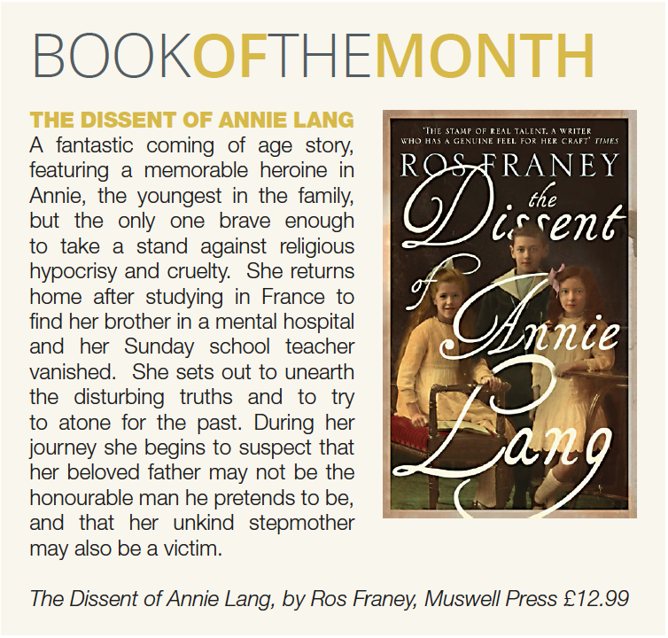 South magazine book of the month annie lang