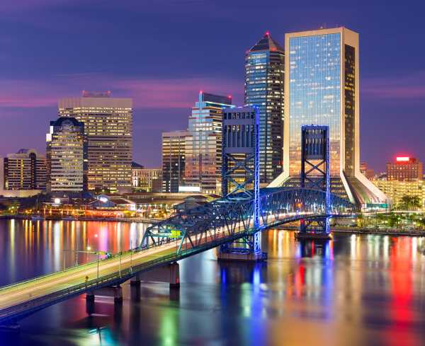 Jacksonville Skyline Twilight > Image > Hero