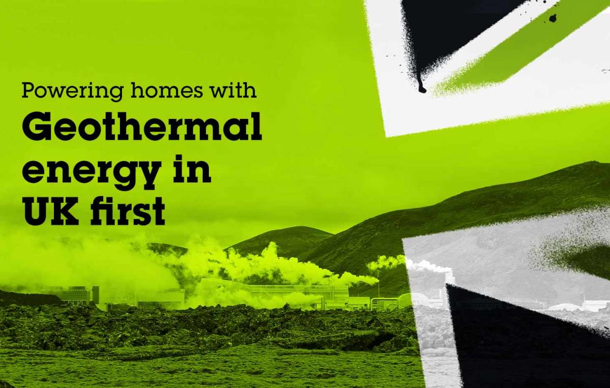 Powering homes with Geothermal energy