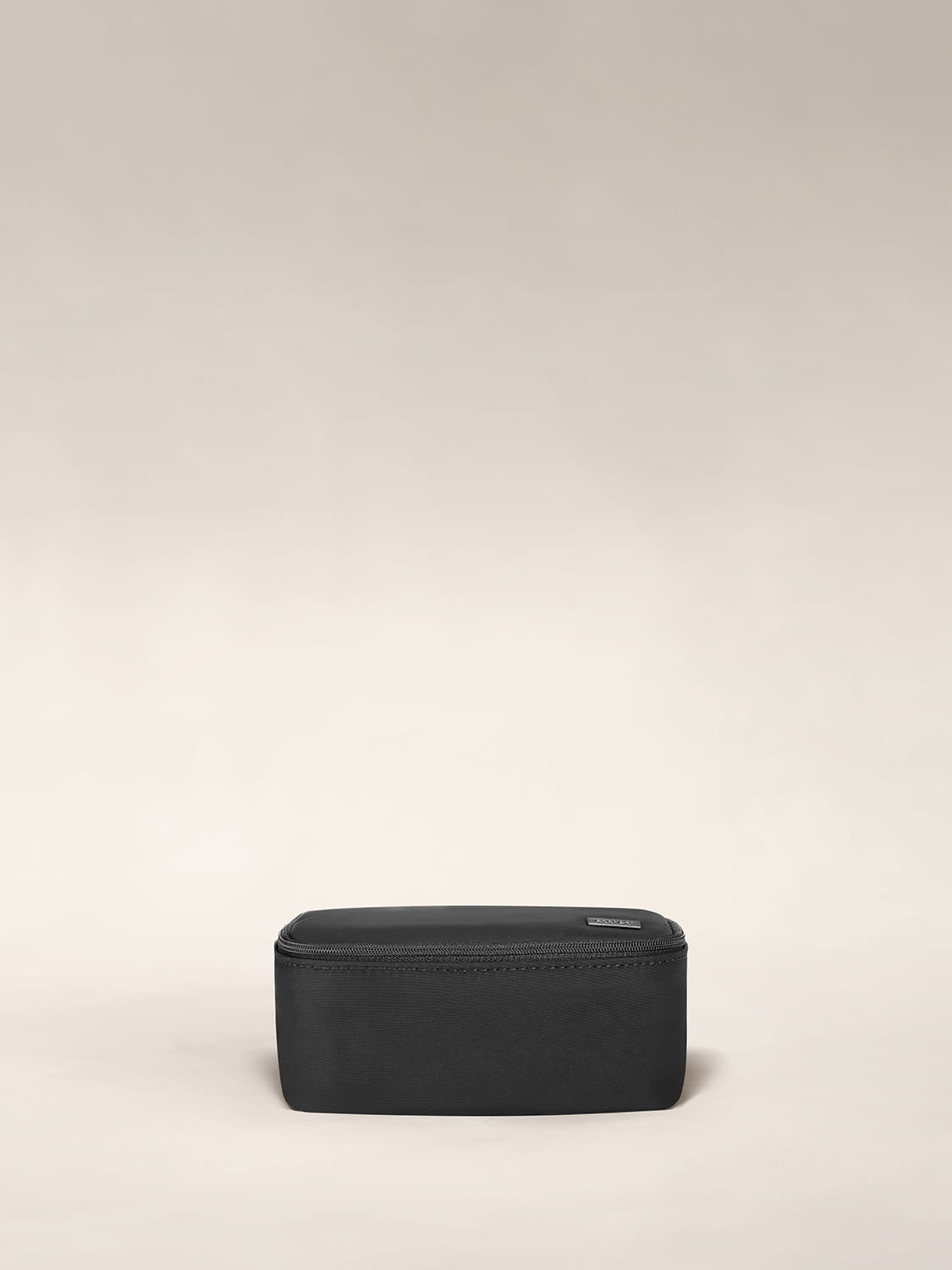 Front view of the away tech case in black