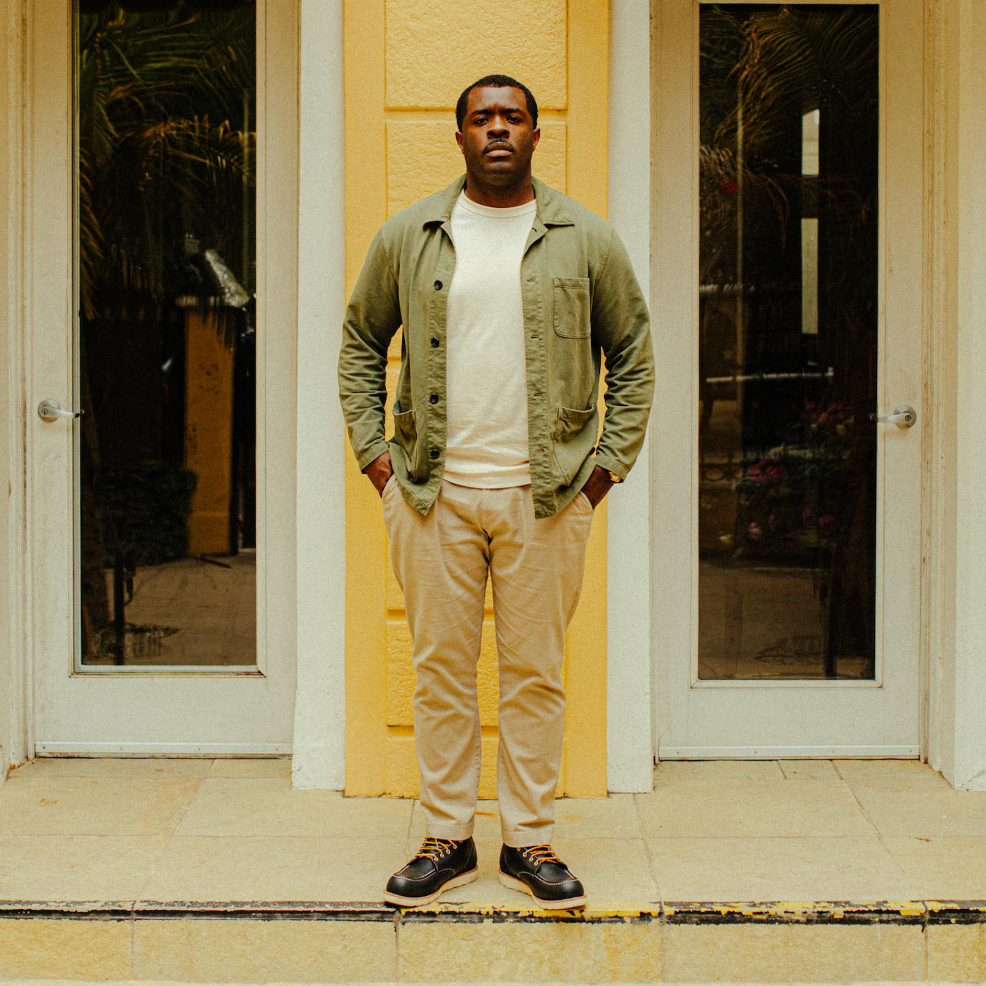 Damon Lawrence, founder and CEO of Stay Homage, an award-winning boutique hotel brand that pays homage to Black culture.