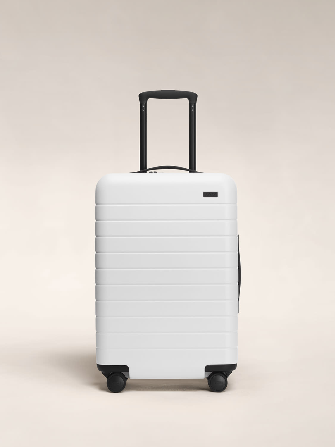 The Bigger Carry-On in White