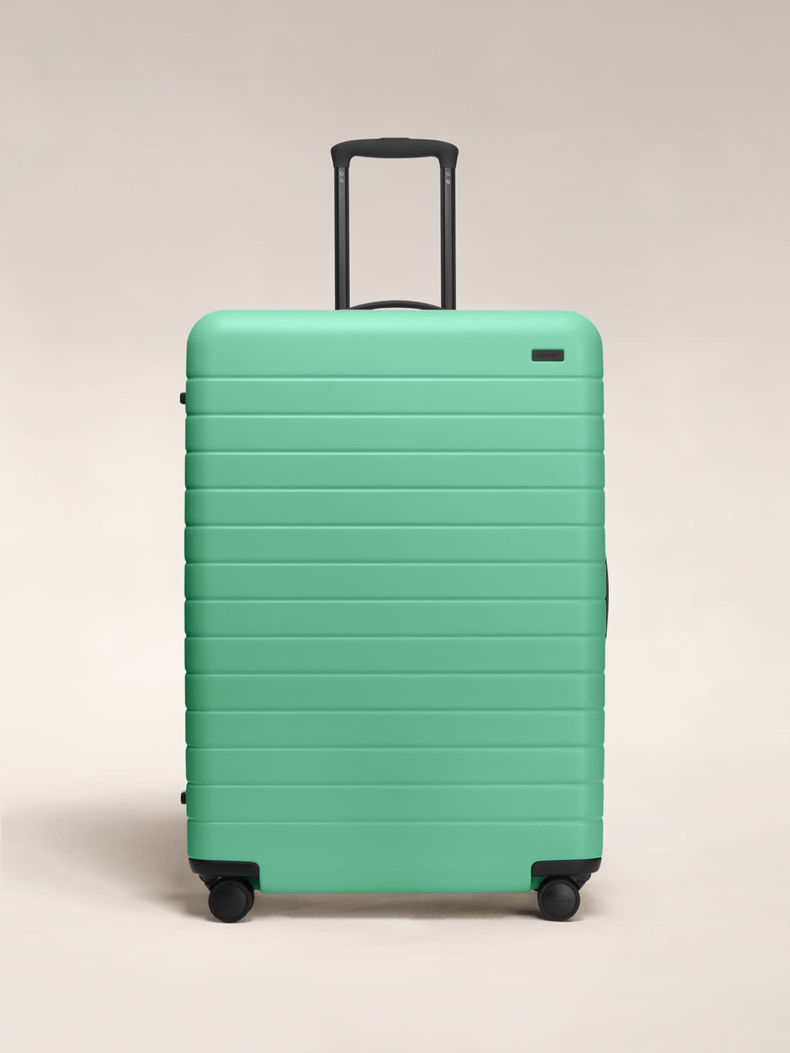 Front view of The Large in Aqua.