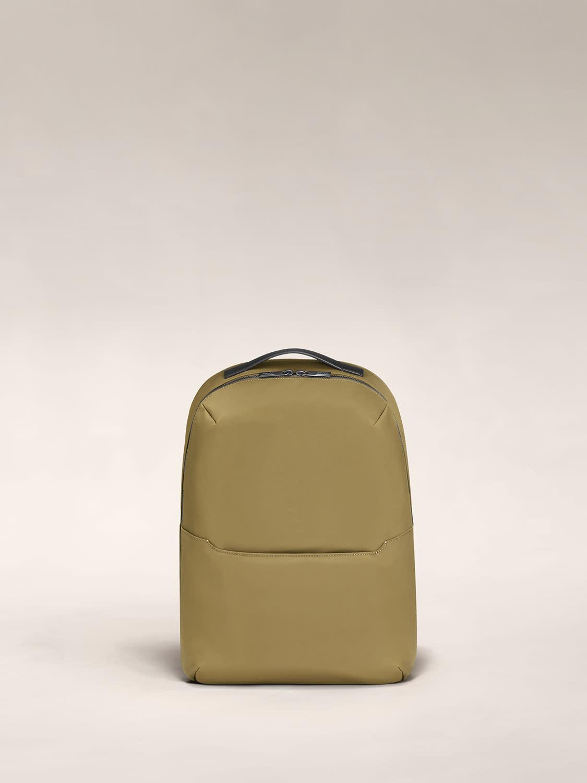 The Zip Backpack in Moss nylon