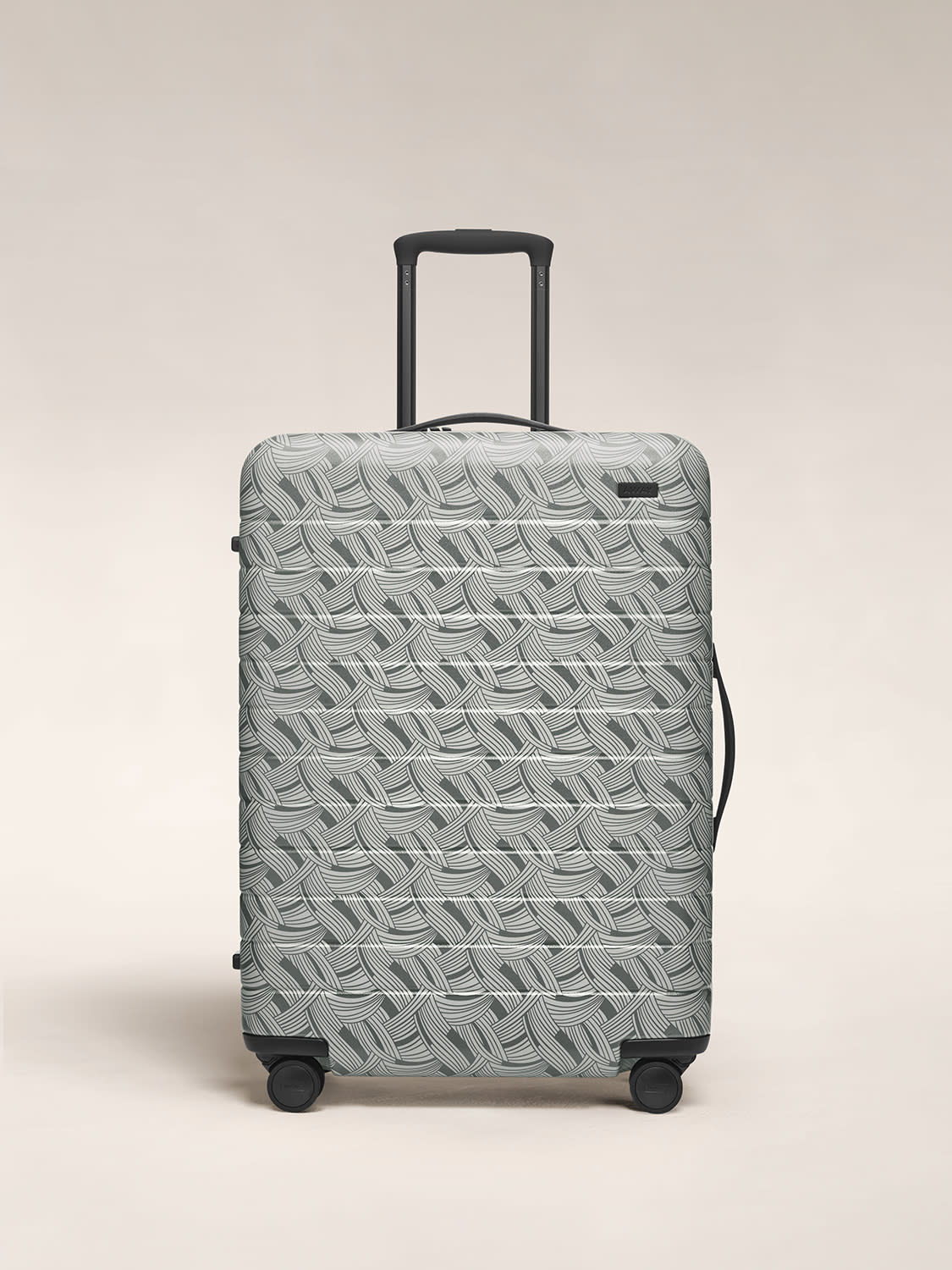 Front view of the Away hardside luggage in Medium in the color Light-Swirl