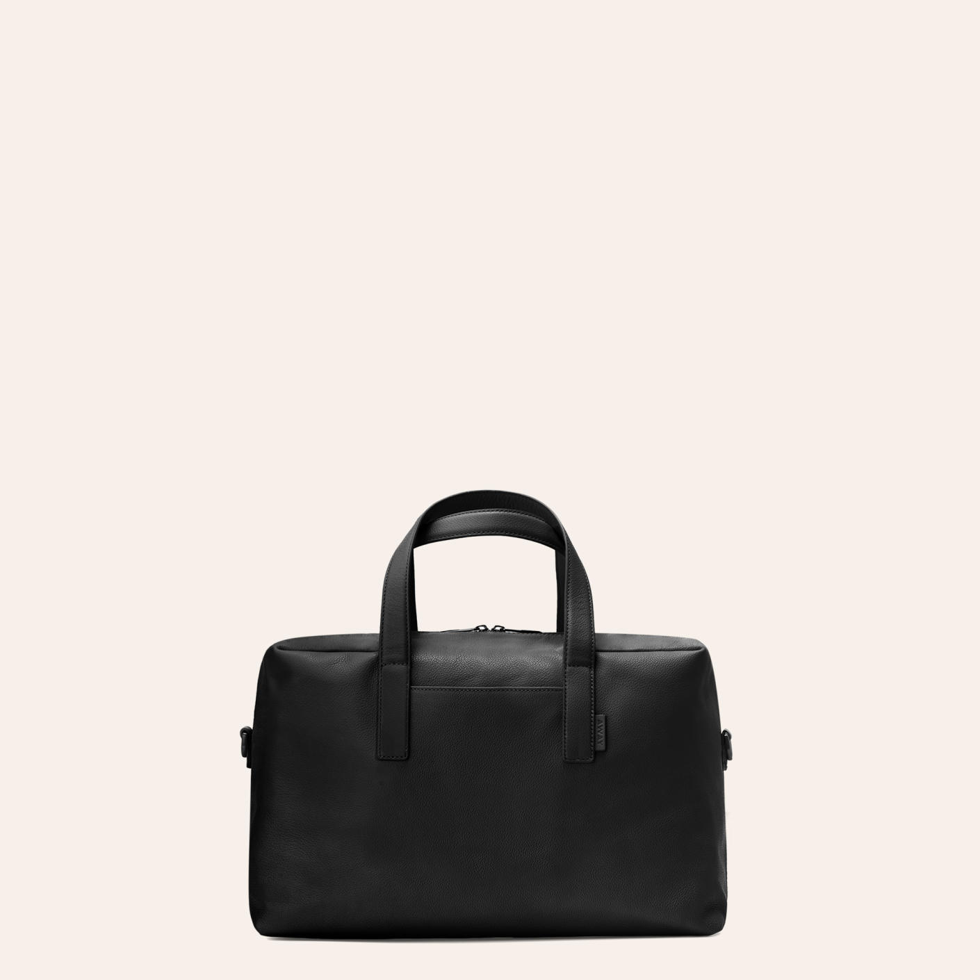 The Away Everywhere Bag in Black leather