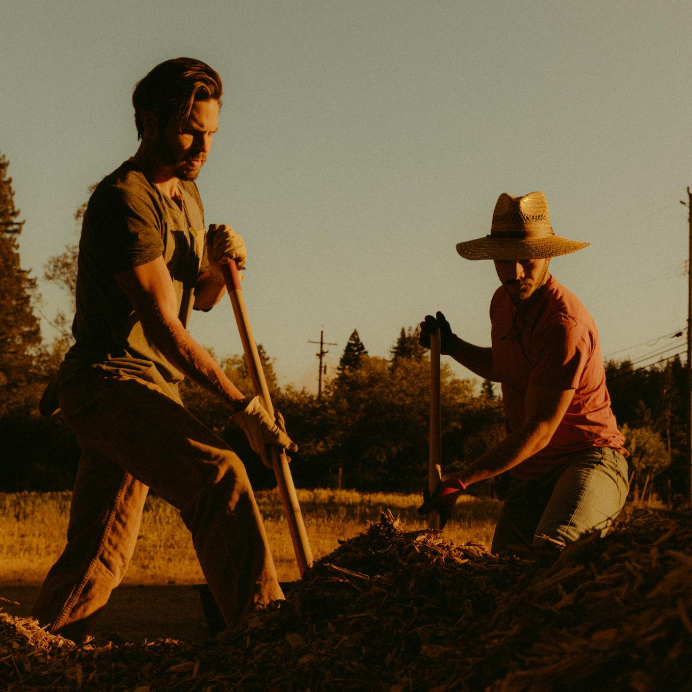 Two farmers in San Francisco