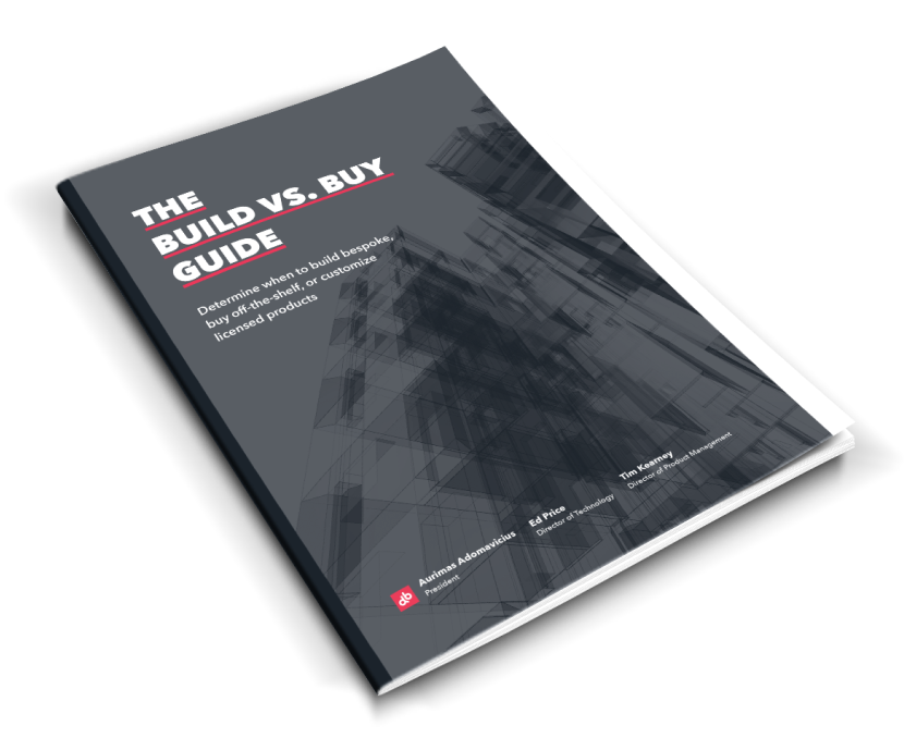 white paper build vs buy book cover