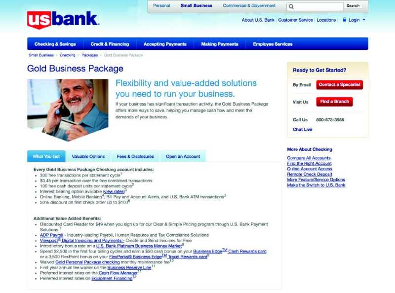 usbank website Onboarding