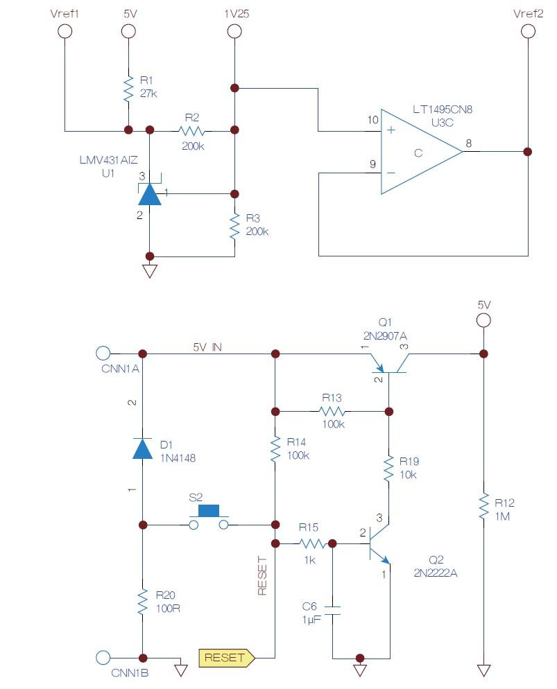 1(b) 电源输出电压双向调节电路