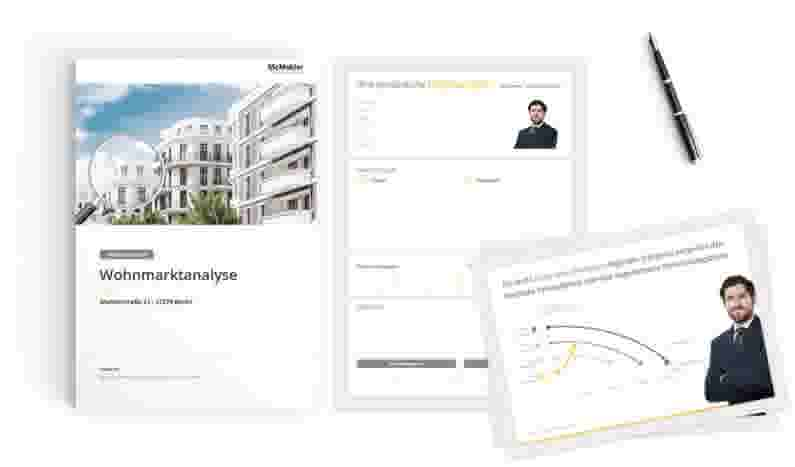 Der Immobilienmakler McMakler präsentiert Ihre Immobilie im besten Licht