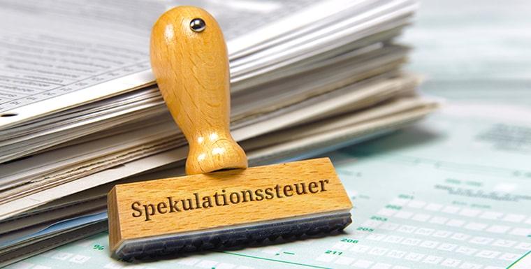 Spekulationssteuer Bei Immobilien