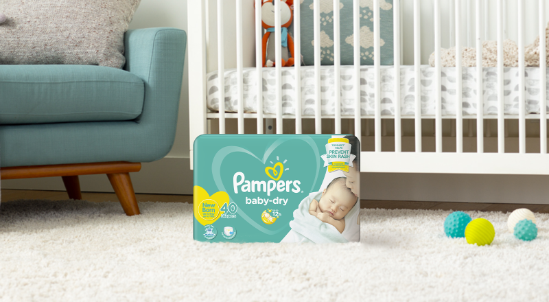 Pampers Baby-Dry for Newborns