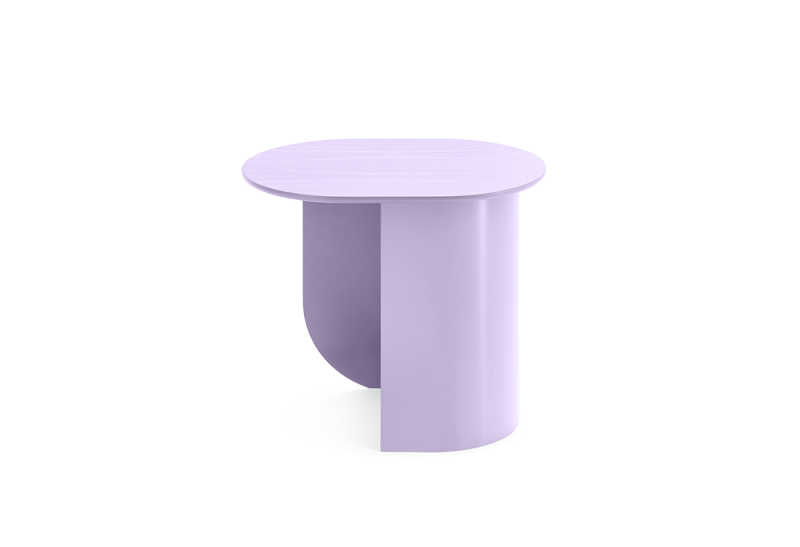 Plateau Sidetable Lilac Side