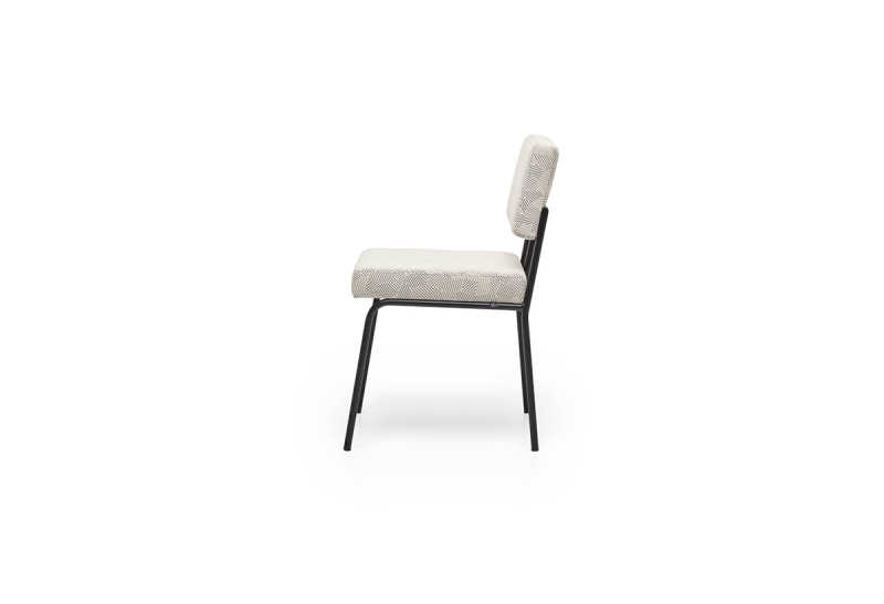FEST monday dining chair no arms razzle dazzle natural side