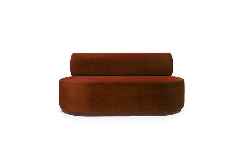FEST sinclair 2-seat sofa juke copper front