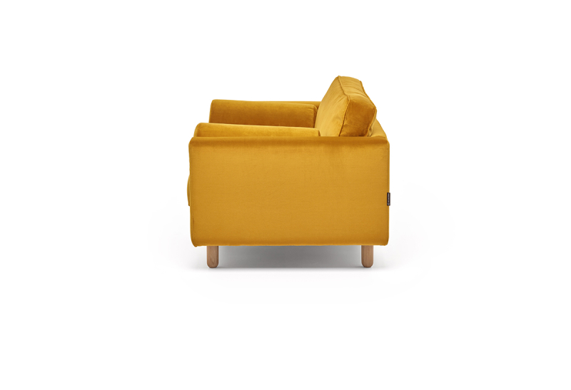 FEST avenue loveseat juke 132 gold side