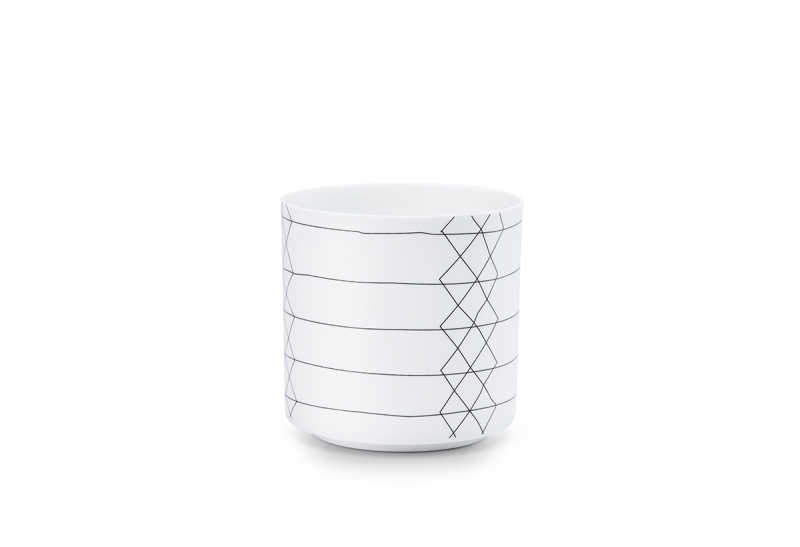 Bright candleholder stripe
