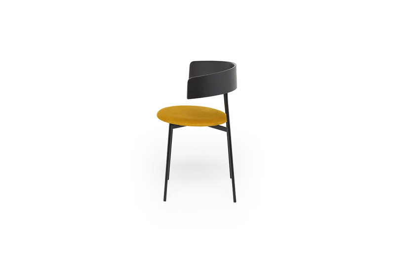 Friday-dining-chair-with-arms-black-juke-gold-side