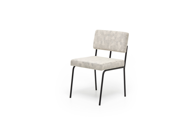 FEST monday dining chair no arms razzle dazzle natural sidefront
