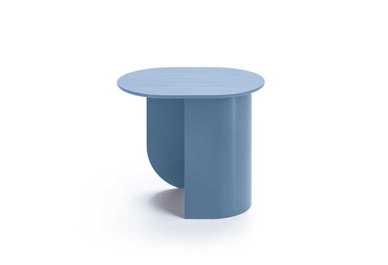 Plateau Sidetable Pigeon Blue Side