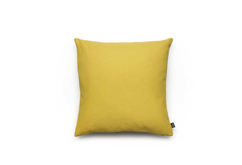 Noa cushion L mustard