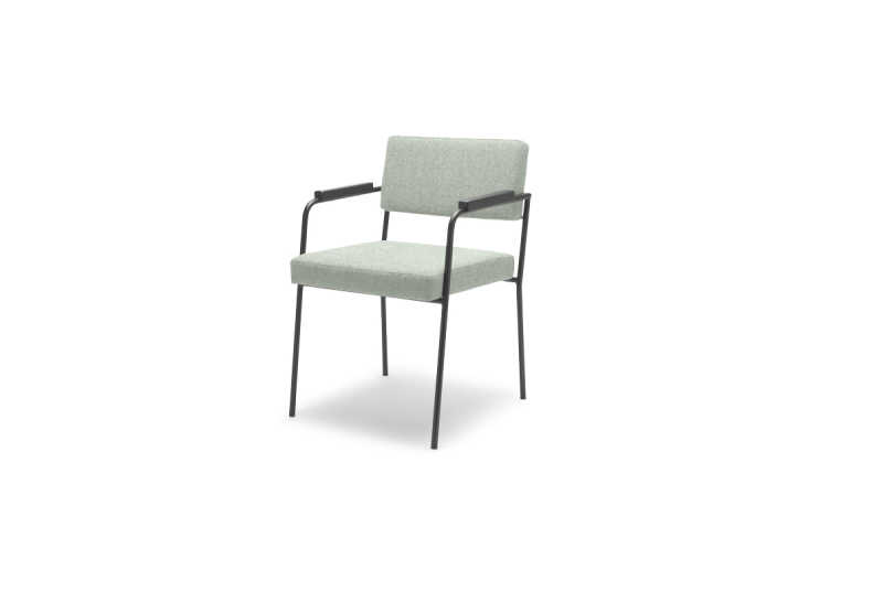 Monday-dining-chair-with-arms-Kvadrat-hallingdal-65-110