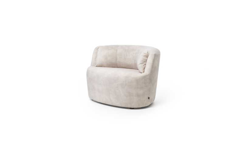 Huf armchair adore natural sidefront