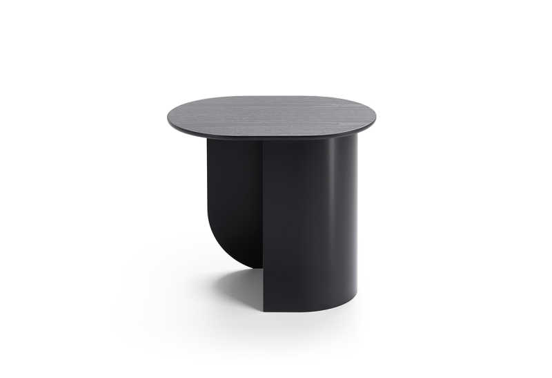 Plateau Sidetable Black Side