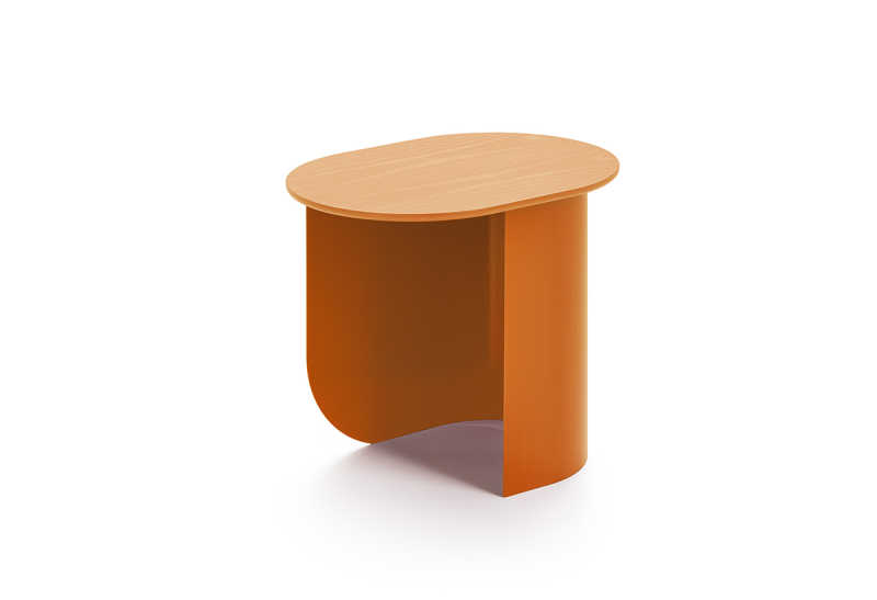 Plateau side table caramel2.1