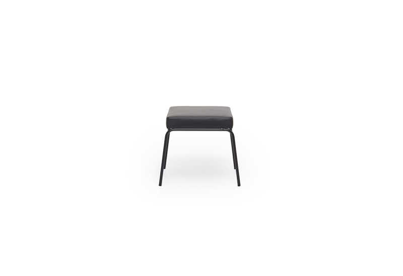 FEST monday stool leather ohman black side