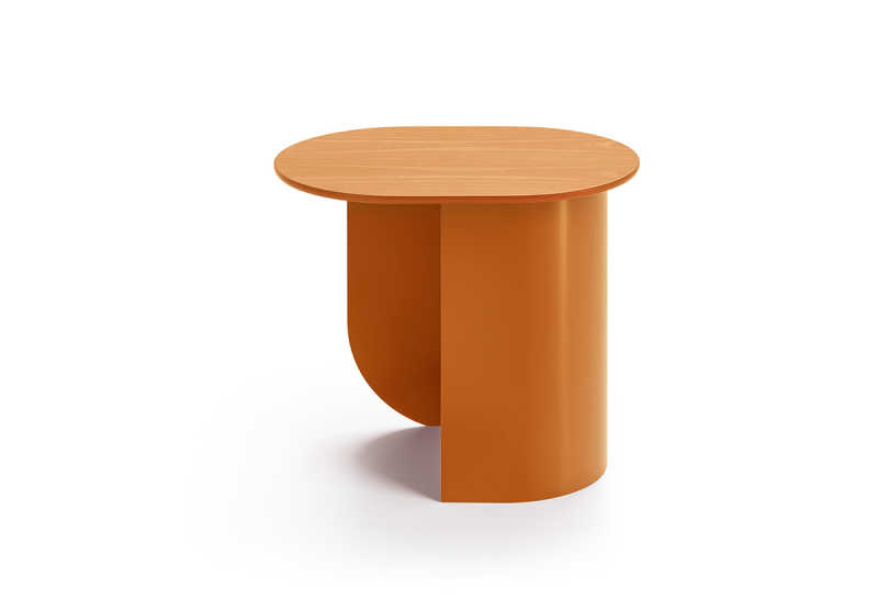 Plateau side table caramel2.2