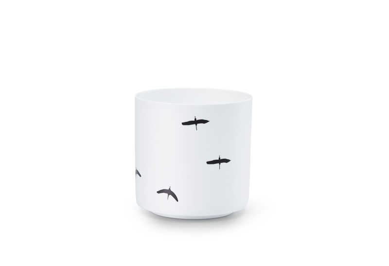 Bright candleholder bird