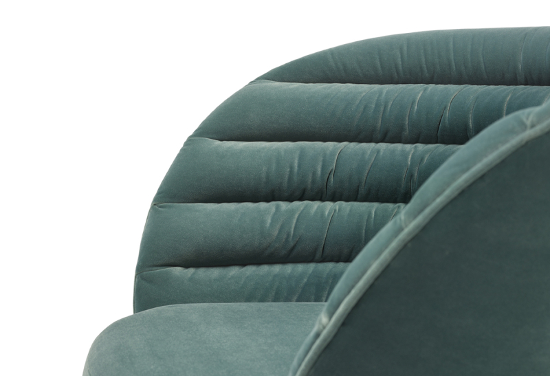 FEST phoebe lounge chair royal turquoise detail 1