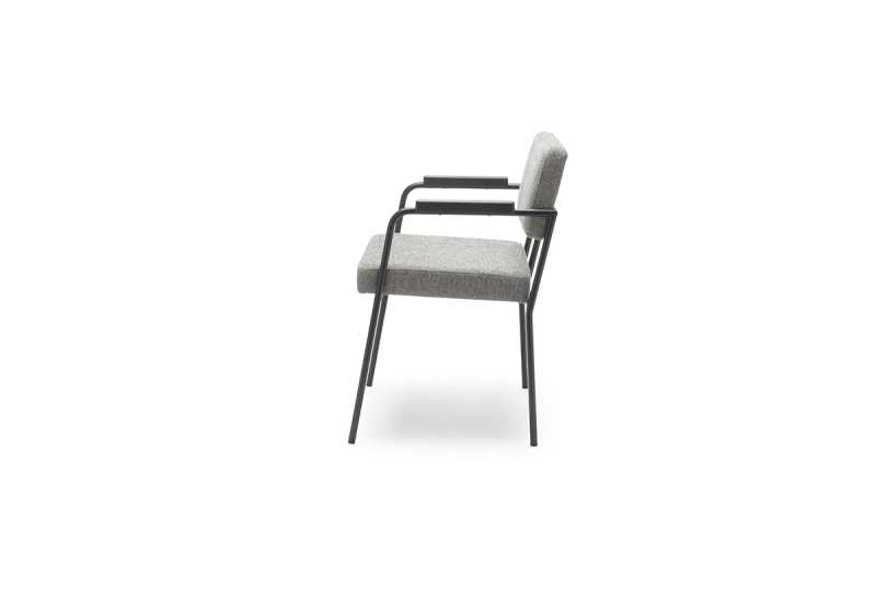 FEST monday dining chair with arms hallingdal 65 116 side