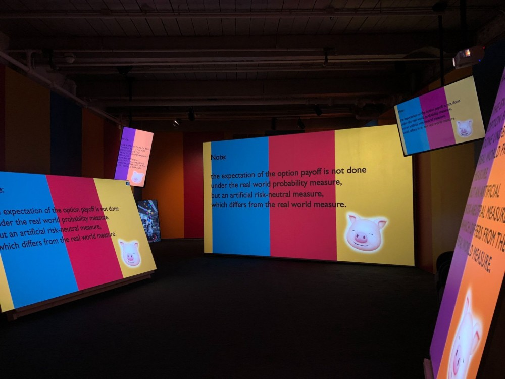 Aziz+Cucher,You're Welcome and I'm Sorry (installed at MASS MoCA), courtesy of the artists