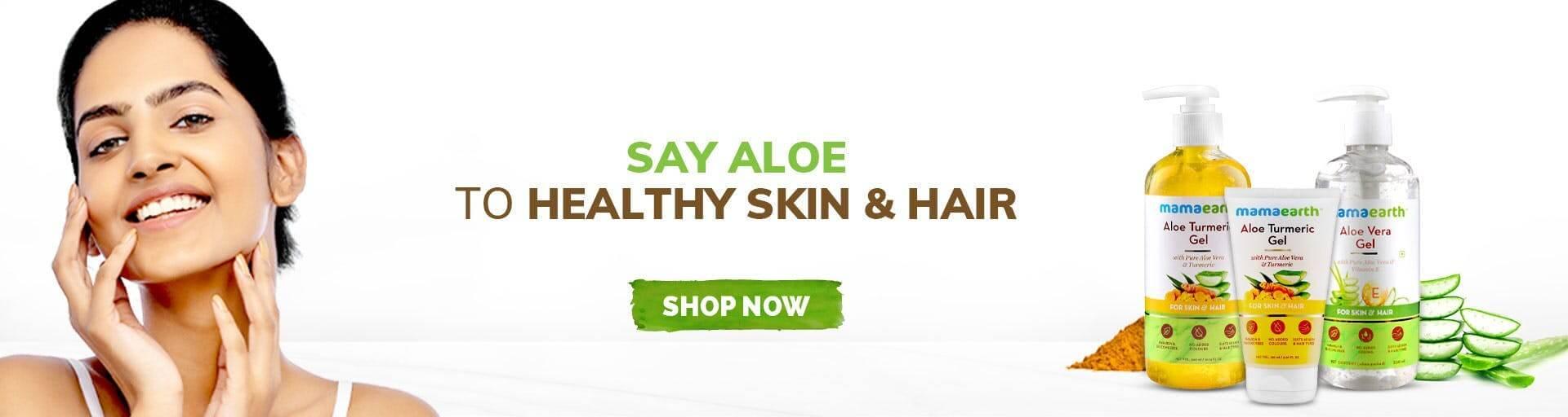 Aloe face gel