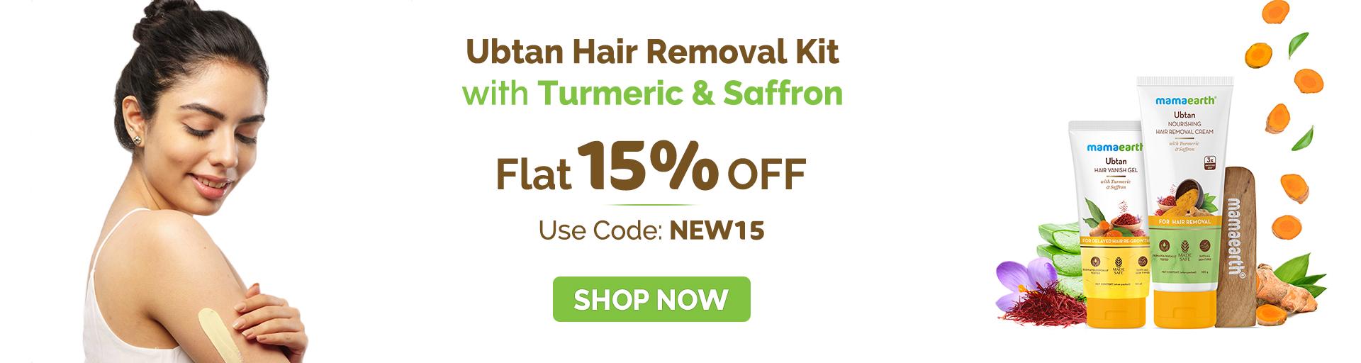 Hair removal kit