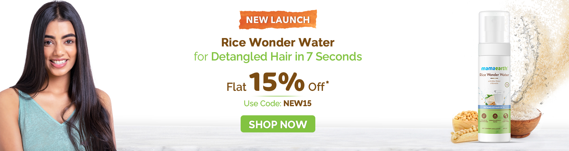 Rice wonder water