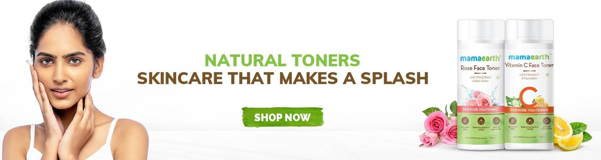 Natural face toner
