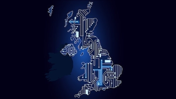 World view of UK digitalised.