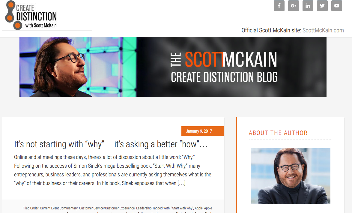 Scott McKain blog