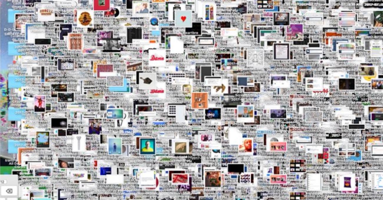 cluttered desktop