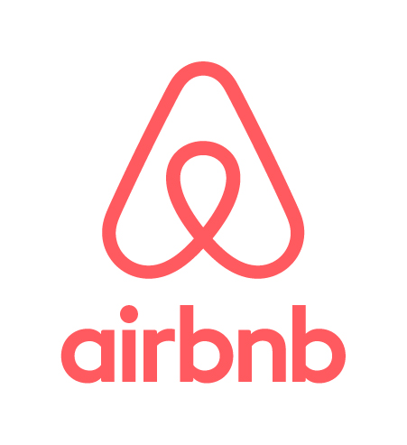 Airbnb vertical lockup web