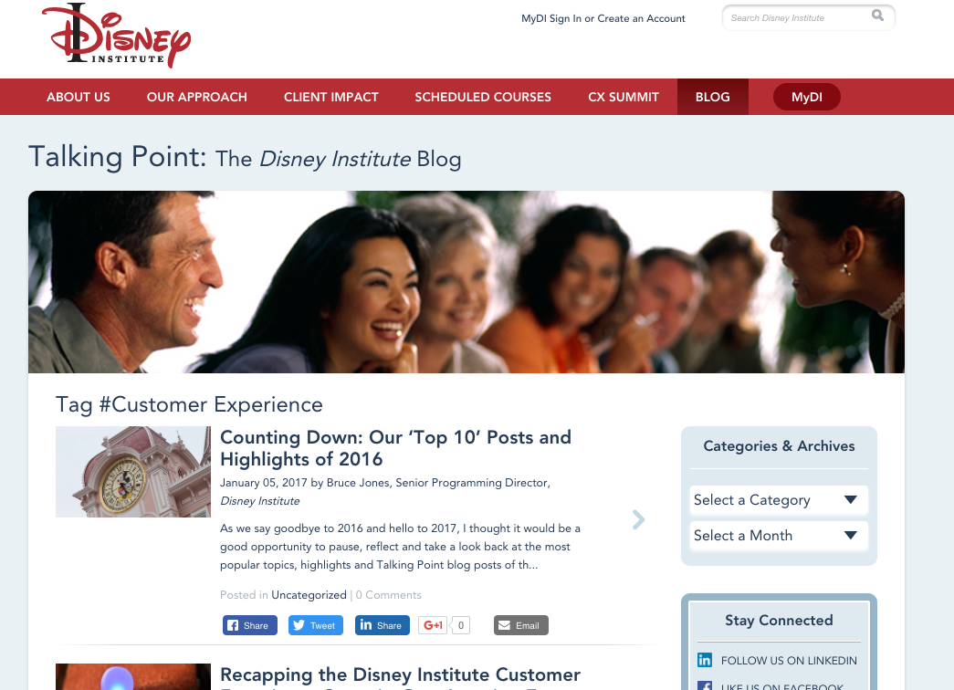 Disney Institute blog