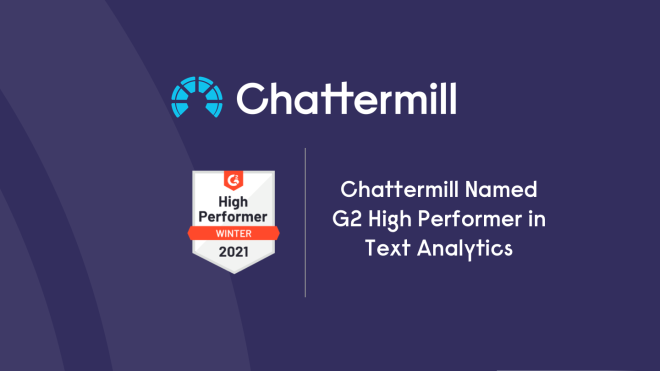 G2 High Performer Text Analytics