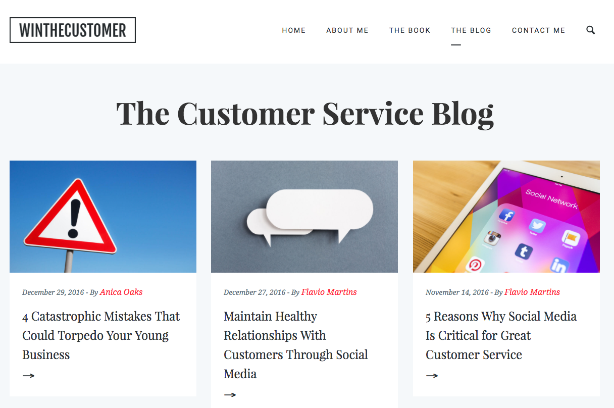 Winthecustomer Blog
