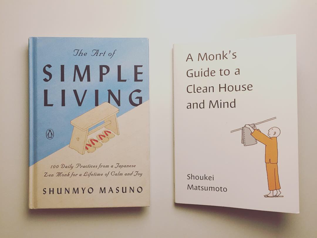 the art of simple living and a monks guide to a clean house and mind
